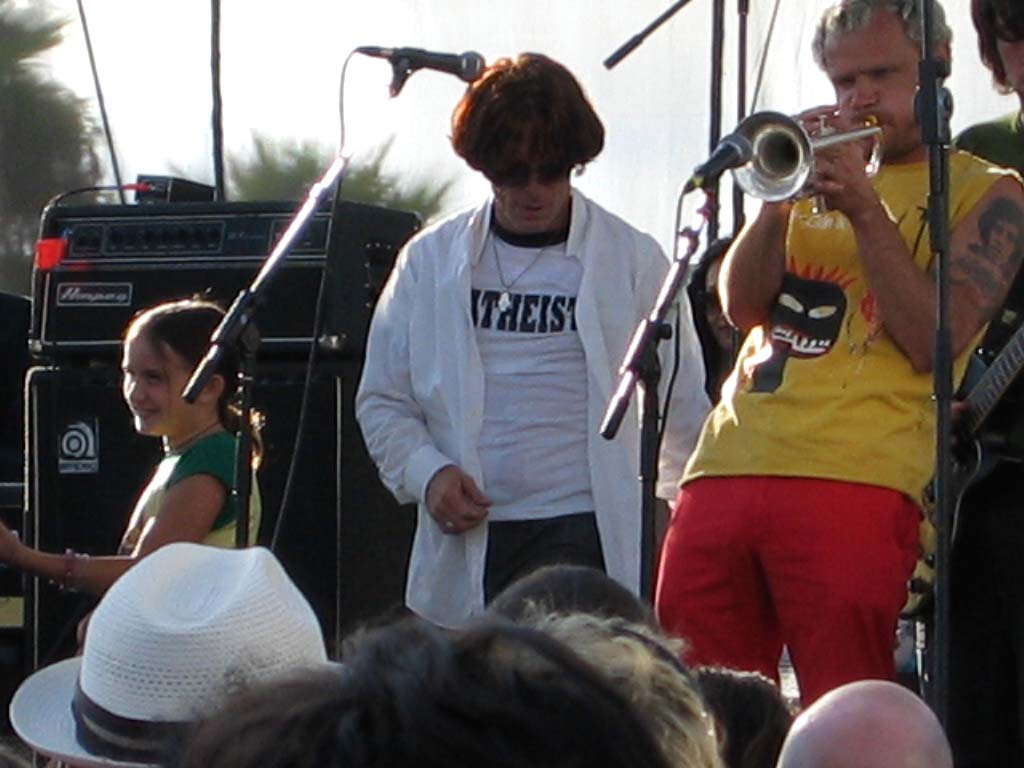 bob forrest and flea in 2004